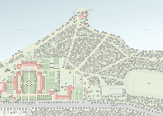 Architektonischer Masterplan