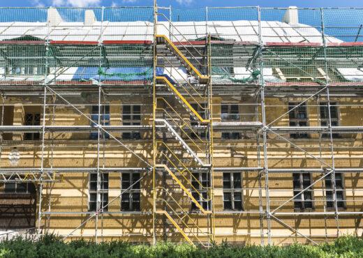Rooftop renovations begin